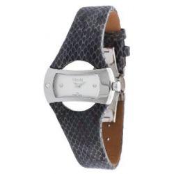 Misaki Damen Armbanduhr Schwarz PWANACONDA