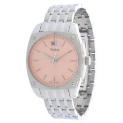 Misaki Damen Armbanduhr Silber QCRWMC98WPINK