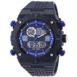 Nautec No Limit Herren-Armbanduhr XL Sprint AD Analog - Digital Quarz Plastik SP QZ-AD/PCBLPCBLBL-BL