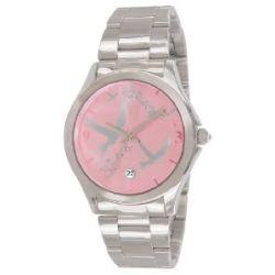 Naf Naf Damen-Armbanduhr Gaya Quarz analog Stahl silberfarben N10154-212