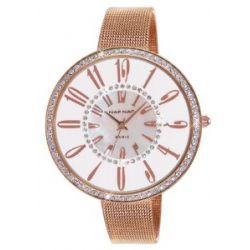 Naf Naf Damen-Armbanduhr Alyce Quarz analog Stahl Farbe Roségold N10144G-801
