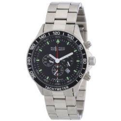 Nautec No Limit Herren-Armbanduhr XL Mistral 2 Chronograph Quarz Edelstahl MS2 QZ2/STSTSTBK