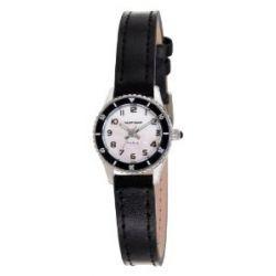 Naf Naf Damen-Armbanduhr Lolla Quarz analog Leder Schwarz N10122-003