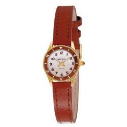 Naf Naf Damen-Armbanduhr Lolla Quarz analog Leder Braun N10122-106