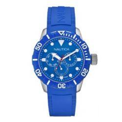 Nautica NSR 101 Unisex-Armbanduhr Chronograph resin blau A13649G
