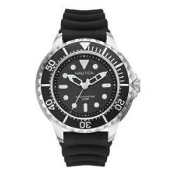 Nautica Herren-Armbanduhr Analog Schwarz A18630G