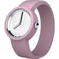 O clock OCM15-M MIRROR Powder Pink Watch