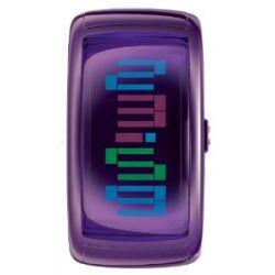 ODM Damen-Armbanduhr Pixel Daze Digital Plastik 9-A10
