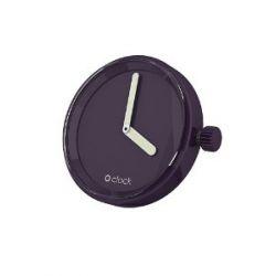 O clock Unisex-Uhrengehäuse MECHANISM für Armbanduhr violett Analog 32 mm MEC.MU