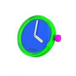 O clock Unisex-Uhrengehäuse MECHANISM für Armbanduhr blau Analog 32 mm MEC.FA