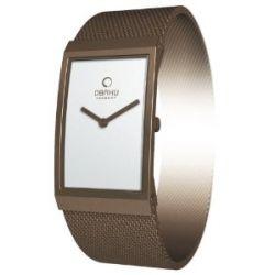 Obaku Harmony Damen-Armbanduhr V127L NIMN Titan-Glas