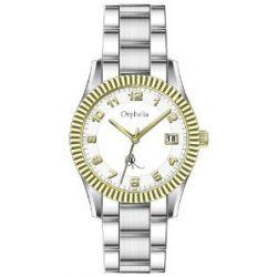 Orphelia Damen-Armbanduhr Analog Edelstahl 132-2705-18