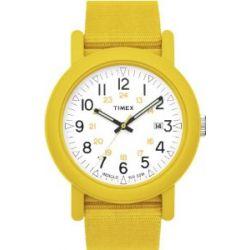 Original Camper Unisex-Armbanduhr Analog gelb T2N490AU
