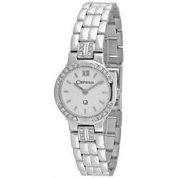 Orphelia Damen-Armbanduhr 18 Karat 750 Weißgold & Diamond 43.3 Gramm mon-7031-1