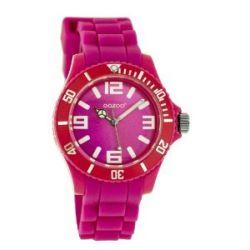 Oozoo Kinder-Armbanduhr Junior Collection Analog Silikon pink JR216