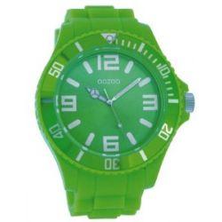 Oozoo XL Kinder-/Damenuhr mit Silikonband - JR247 - Fluo Green