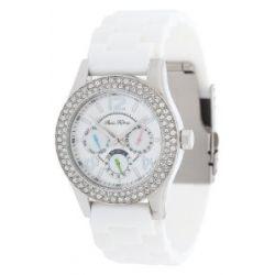 Paris Hilton Damen Armbanduhr weiß PH11687M-RO