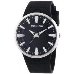 Police Herren-Armbanduhr XL DAKAR Analog Quarz Kautschuk P14197JS-02