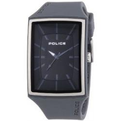 Police Herren-Armbanduhr VANTAGE-X Analog Quarz Silikon P13077MPGYS-02