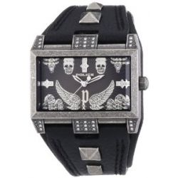 Police Damen-Armbanduhr ELEVATION Analog Quarz Leder P13662JS-61
