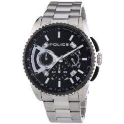 Police Herren-Armbanduhr XL FLARE Chronograph Quarz Edelstahl P13648MSTB-02M