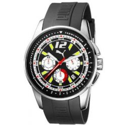 Puma Time Motorsport Herrenuhr RACE LUMINOUS CHRONO SILVER A.PU102161005