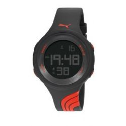 Puma Unisex-Armbanduhr Twist L Digital Quarz Resin PU911091001