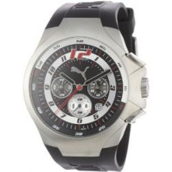 Puma Time Motorsport Herrenuhr TOP GEAR UP CHRONO SILVER A.PU100061005