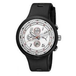 Puma Time Motorsport Herren-Armbanduhr XL Slick Chronograph Plastik A.PU910401002