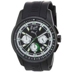 Puma Time Motorsport Herrenuhr RACE LUMINOUS CHRONO BLACK A.PU102161006