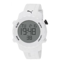 Puma Herrenuhr Sharp White