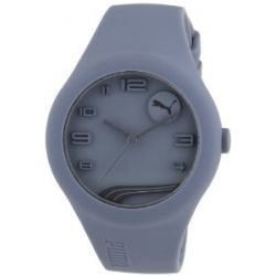 Puma Herren-Armbanduhr XL Analog Quarz Silikon A.PU103001005