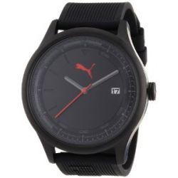 Puma Herren-Armbanduhr XL Analog Quarz Plastik A.PU103011003