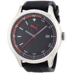 Puma Herren-Armbanduhr XL Analog Quarz Plastik A.PU103011002