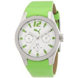 Puma Time Motorsport Damenuhr TIRE LADIES MULTIFUNCTION GREEN A.PU101982003