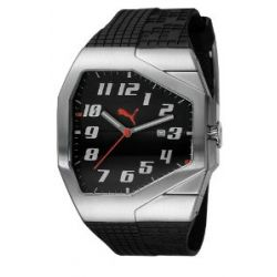 Puma Time Motorsport Herrenuhr TRACK GENTS SILVER A.PU910561007