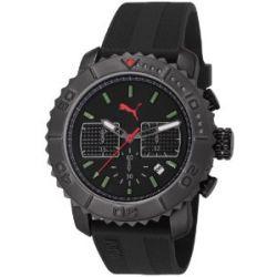 Puma Herren-Armbanduhr XL Gallant Chronograph Quarz Plastik PU103561004