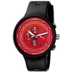 Puma Herren-Armbanduhr XL Slick Chronograph Plastik A.PU910401003