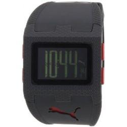 Puma Herren-Armbanduhr Flux Digital Plastik A.PU910361003