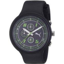 Puma Herren-Armbanduhr XL Slick Chronograph Plastik A.PU910401005