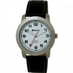 Ravel Jungen-Armbanduhr Analog Kunststoff schwarz R5-2.1B