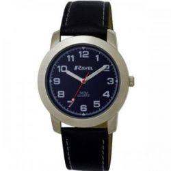 Ravel Jungen-Armbanduhr Analog Kunststoff schwarz R5-2.6B