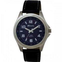 Ravel Herren-Armbanduhr Sports Analog Kunststoff schwarz R5-4.6G