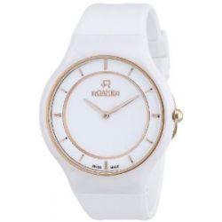 Roamer Damen-Armbanduhr CERALINE PASSION Analog Quarz Kautschuk 683830 SCK3