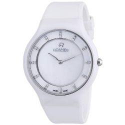 Roamer Damen-Armbanduhr CERALINE PASSION Analog Quarz Kautschuk 683830 SCK4