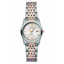Roamer Damen-Armbanduhr XS SATURN AUTOMATIC Analog Automatik Edelstahl 941561 SRGM1