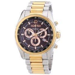 Roamer Herren-Armbanduhr XL ROCKSHELL CHRONO Chronograph Quarz Edelstahl 220837 SRGM2