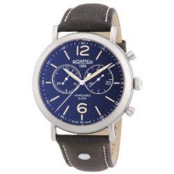 Roamer Herren-Armbanduhr XL VANGUARD CHRONO Chronograph Quarz Leder 935951 SL2