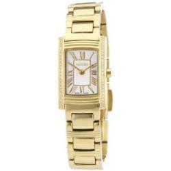 Roamer Damen-Armbanduhr DREAMLINE ARC Analog Quarz Edelstahl beschichtet 765751 GM1