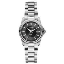 Roamer Damen-Armbanduhr XS ARES Analog Quarz Edelstahl 730844 SM2